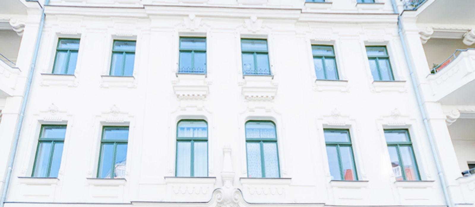 Art Déco Fassadenansicht