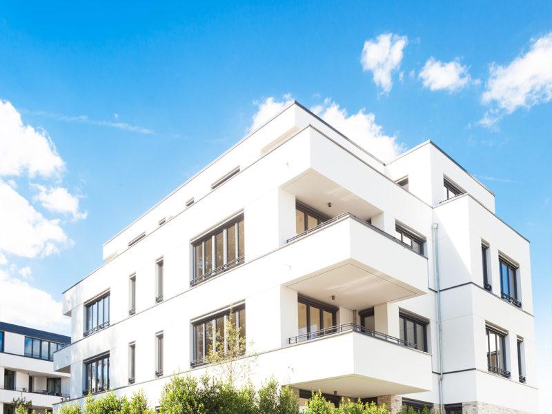 Moderner Neubau – Graphisches Viertel