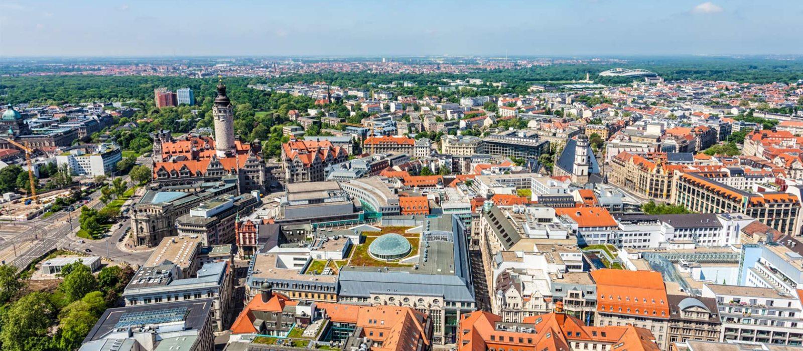 Leipzig wird immer größer