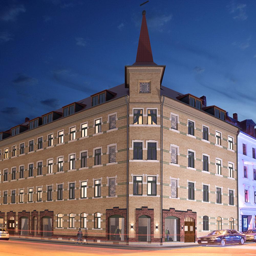 Baustart Endersstraße
