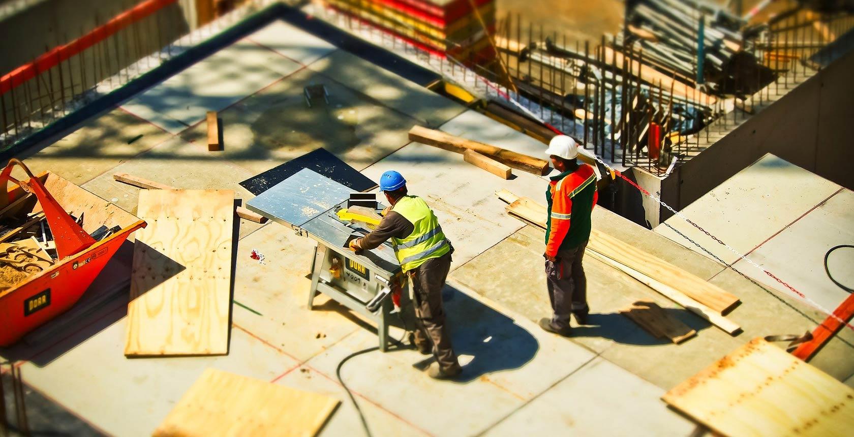 Baustellenansicht Blogansicht