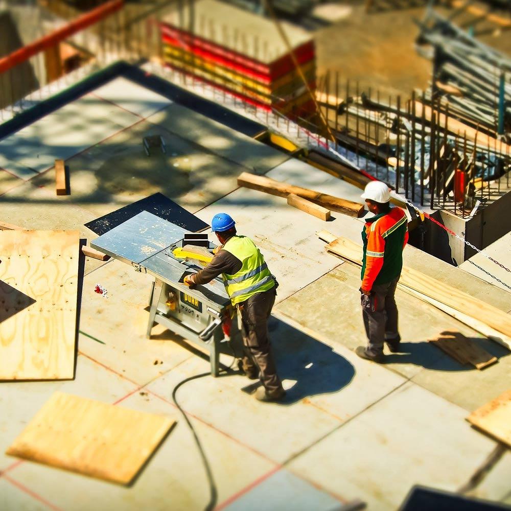Baustellenansicht