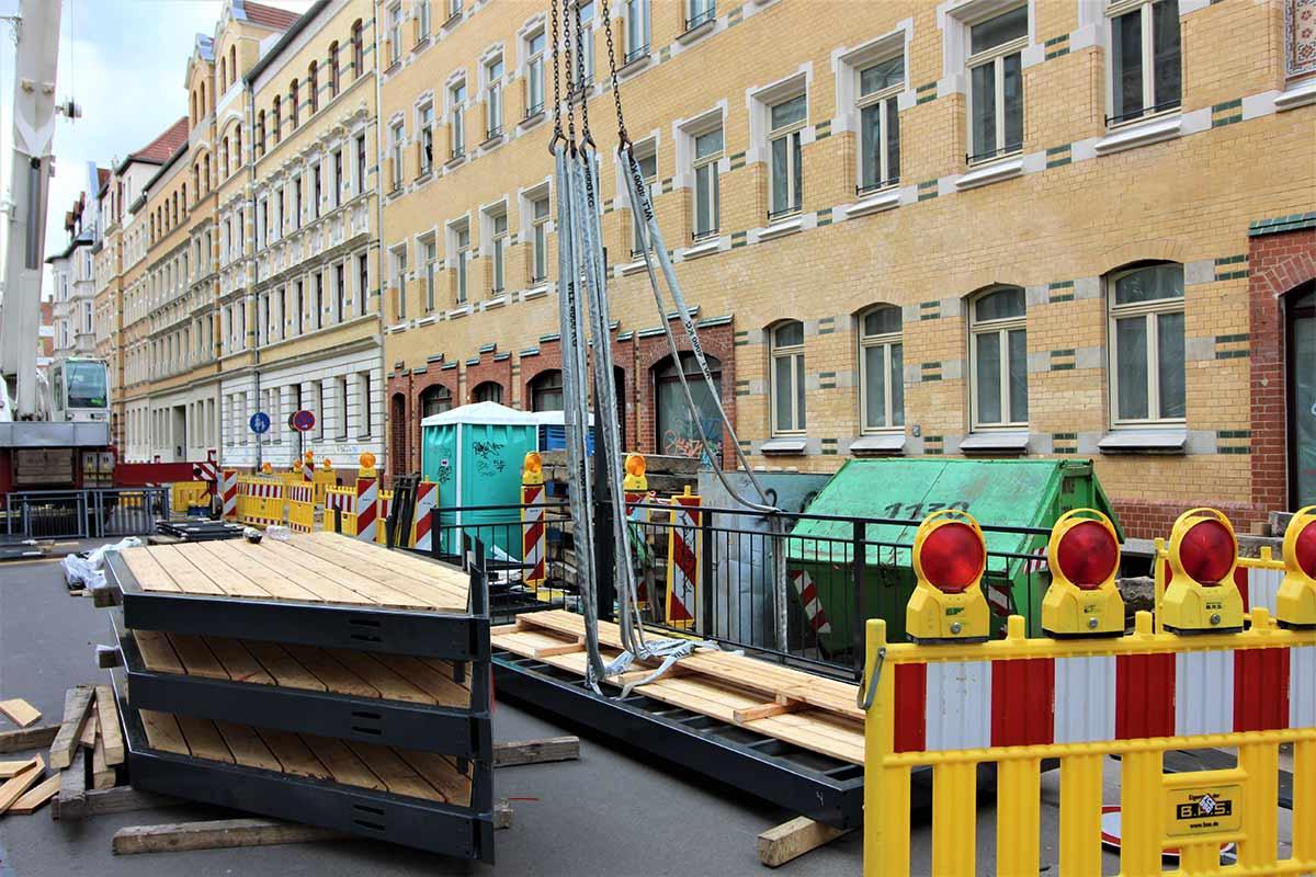 Enderstraße Balkonarbeiten/Montagen