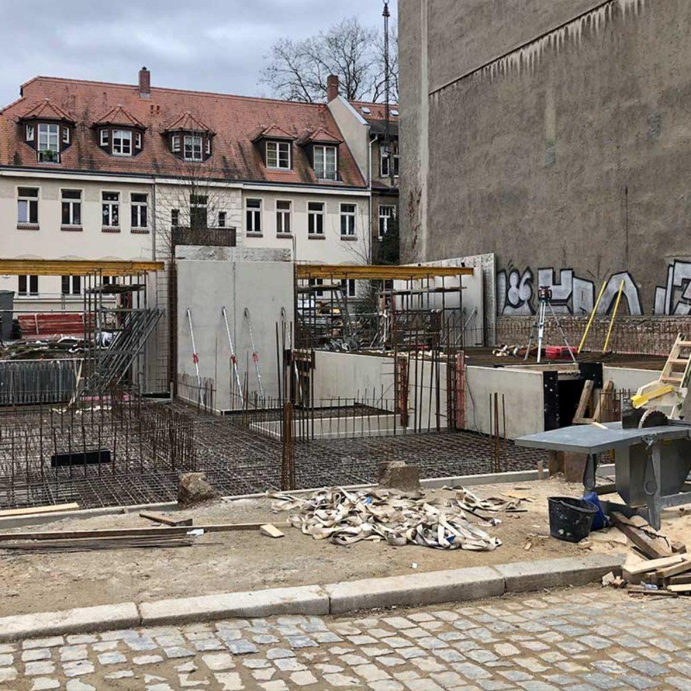 Rohbau Kantstraße